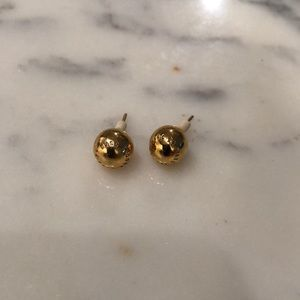 Marc by Marc Jacobs gold stud earrings
